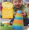 Green toys Stapel toren van gerecycled plastic, geen pvc, geen phthalaten, geen bpa