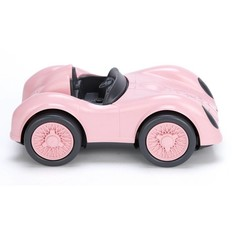 Green toys Racing car, pink, recycled plastic
