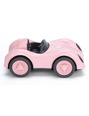Green toys Race Auto, Roze, recycled plastic, geen pvc, geen phthalaten, geen bpa
