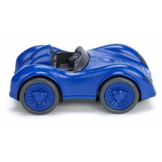 Green toys Racing car, blue, recycled plastic
