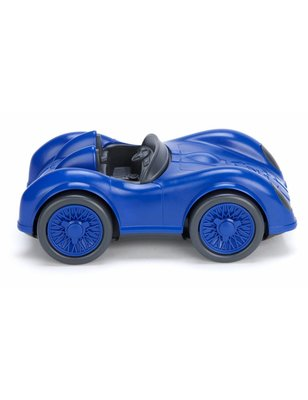 Green toys Race Auto, Blauw, recycled plastic, geen pvc, geen phthalaten, geen bpa