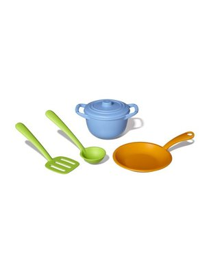 Green toys Chef Set, recycled plastic, geen pvc, geen phthalaten, geen bpa