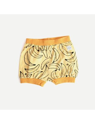 Indikidual Banana Puff Short, 100% organic cotton, single jersey