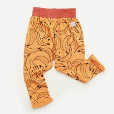 Indikidual Broek Too Crazy Banana