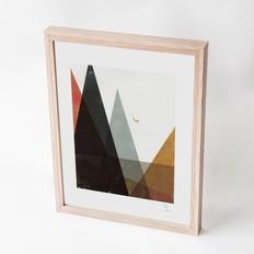 """Blanca Gómez A4 print, """"Mountain diver"""""""