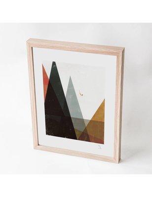 """Blanca Gómez A4 print, """"Mountain diver"""", 190 grs"""