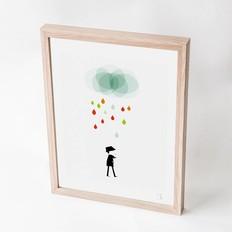 "Blanca Gómez A4 print, ""Monsieur I """