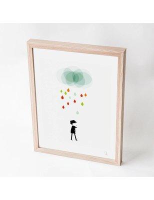"Blanca Gómez A4 print, ""Monsieur I"", 190 grs"
