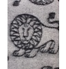 Klippan Deken Leo Lion 100% lams wol