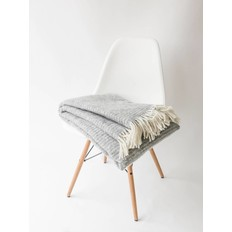 Klippan Blanket Ralph light gray