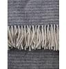 Klippan Blanket Ralph light gray, 100% Lamb wool