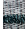 Klippan Blanket Mosaic Blue / Green, 100% lambswool - Copy