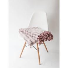 Klippan Deken Mozaiek Rood / Roze