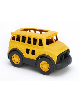 "Green toys School Bus, ""Green Toys"", made ​​from recycled milk containers, no PVC, no phthalates, no bpa"