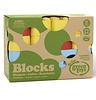 """Green toys Bouwblokken van het merk """"Green Toys"""", gemaakt van gerecycelde melkcontainers"""