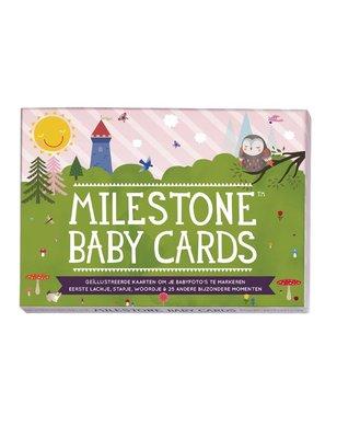 Milestone cards Milestone baby cards Nederlands, FSC papier, Geproduceerd in België