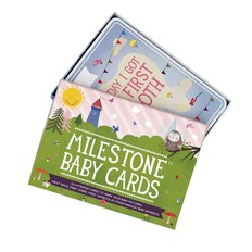 Milestone cards Milestone baby cards English