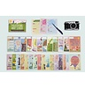 Milestone cards Milestone babycards Dutch, FSC paper, Made in Belgium