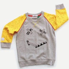 Indikidual Sweater Smiles, organic cotton