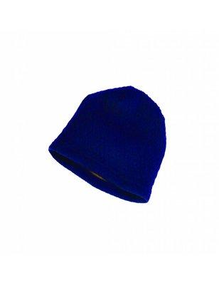 Macarons Hat Hendrik, blue / honey ,merino wool and organic cotton, GOTS