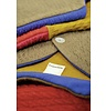 Macarons Vest Claire, taupe/honing, merinowol, biologisch katoen, GOTS