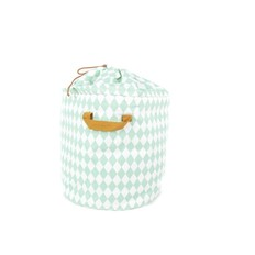 Nobodinoz Toybag Baobab big, Mint Diamonds