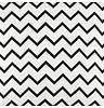 """Nobodinoz Kussen Averell Black ZigZag, 100% katoen, roze """"zigzag"""" dessin, geproduceerd in Spanje"""