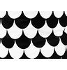 Nobodinoz Opbergmand Baobab Klein, Black Scales, 100% katoen, geprint.