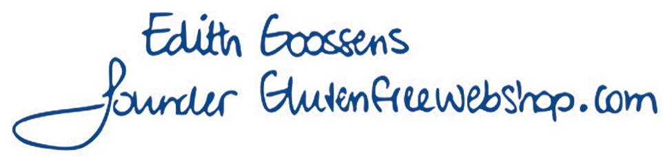 Edith Goossens Founder Glutenfreewebshop.com