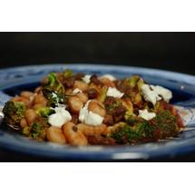 Gnocchi met broccoli en saucijsjes