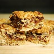 Gezonde glutenvrije Haver-Dadelrepen