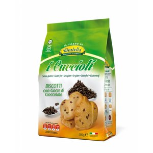 I Cuccioli Konijnenkoekjes met chocolade