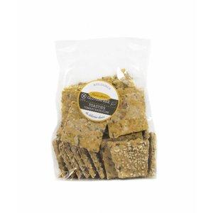 Toastjes Biologisch- glutenvrij met een beetje sesam