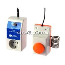 Growtecc® Lüftersteuerung + Thermostat 1500W