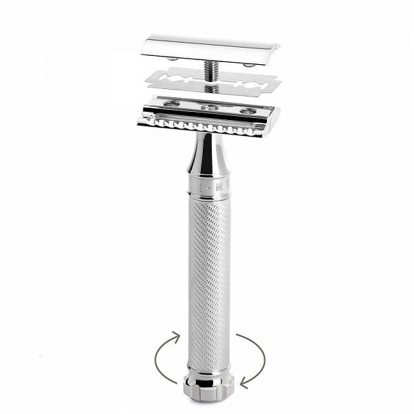 Muhle Double Edge Razor Chroom R89 Twist