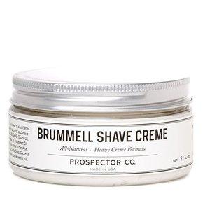 Prospector Co. Brummel scheercreme 236 ml.