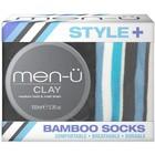 Men-U Clay met Bamboo sokken