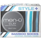 Men-U Clay + Socks