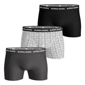 Bjorn Borg Basic Boxers - 3 pack - Check