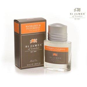 St James of London Aftershave Gel  Mandarin & Patchouli 50ml
