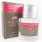 St James of London Aftershave Gel  Sandalwood & Bergamot