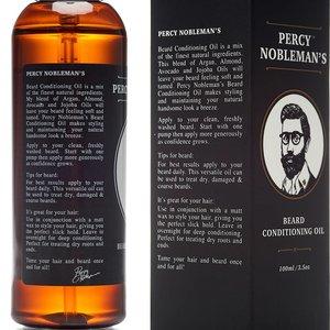 Percy Nobleman Baardolie Scented