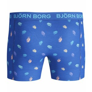Bjorn Borg 2p SHORTS BB MULTI PALM & BEACH BlUE