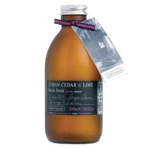 Bath House Badschuim 300ml Cuban Cedar & Lime
