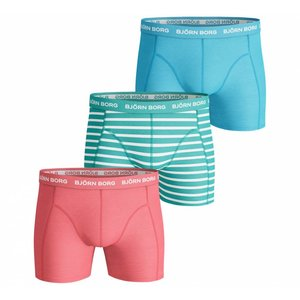 Bjorn Borg 3-pack boxers Seasonal Solids - Stripes