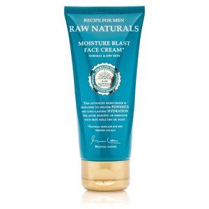 Recipe for Men RAW Naturals Moisture Blast Face Cream