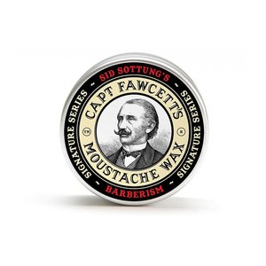 Captain Fawcett Captain Fawcett Barberism moustache wax