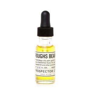 Prospector Co. BURROUGHS BEARD OIL 0.5 oz.