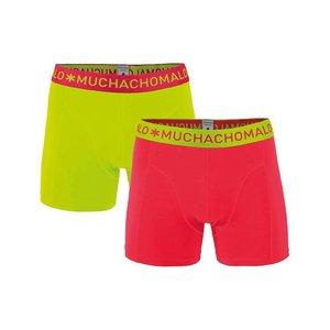 Muchachomalo 2-PACK MEN SHORT ROOD/GROEN