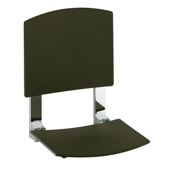 douche klapzitting met rugleuning voor muurmontage keuco plan care vitasel shop. Black Bedroom Furniture Sets. Home Design Ideas